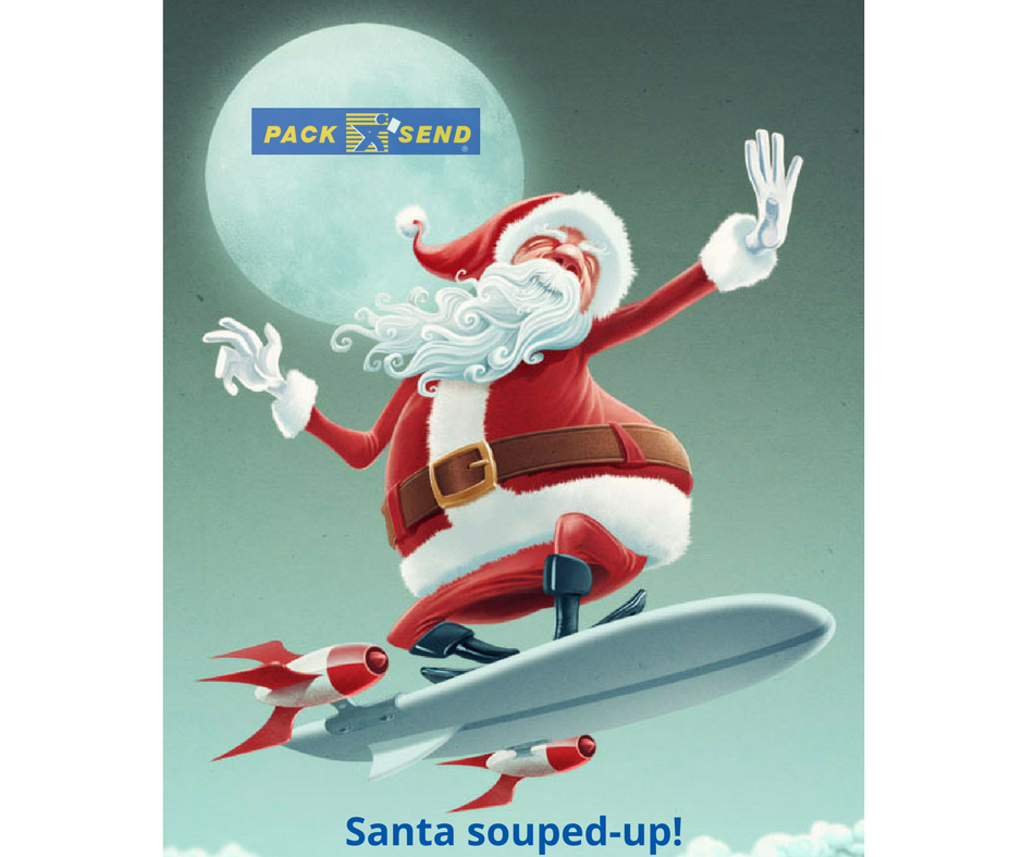 Surfing super Santa