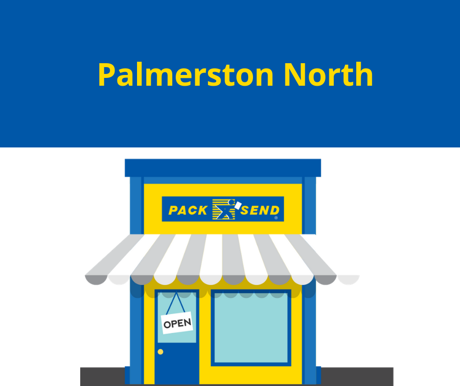 Pack & Send Palmerston North now open
